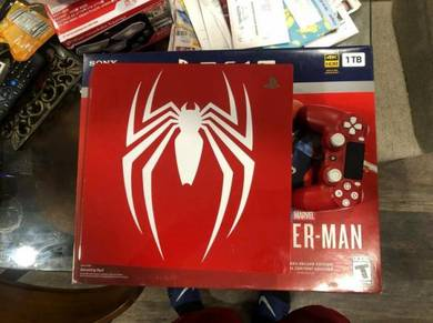 PS4 Pro Spider-Man Limited Edition Console