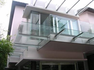 Laminated Glass Awning 12mm, Pergola, Gate Grill