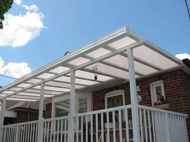 Awning Poly ACP Zink, Pergola, Gate & Grill
