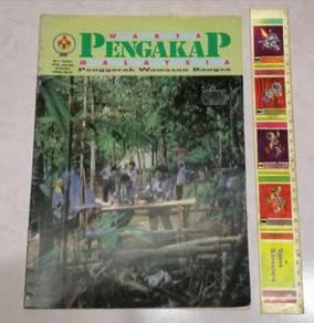 WARTA PENGAKAP Malaysia Scouts Majalah Isu 1 1993