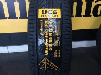 Tyre Continental UC6 215 55 17