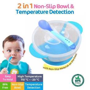 Toddler Temperature Color Changing Feeding Bowl