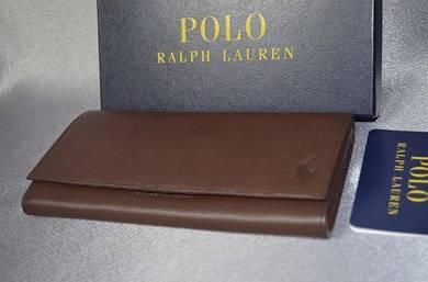 Wallet kulit polo ralph lauren original