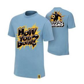 WWE WWF T Shirt Enzo Big Cass How You Doing Baju