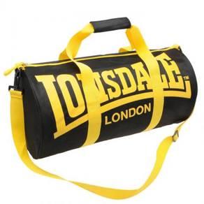 Lonsdale Barrel Bag gym sport yellow black ori
