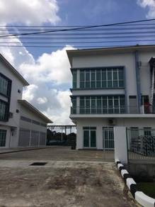 Three Storey Semi Detached Industrial Lot at Eastwood, Miri