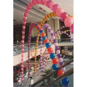 602) single arch balloon