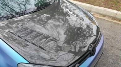 VW GOLF MK6 GTR Style Carbon Fiber Bonnet