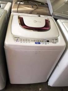 Mesin Basuh 9kg Toshiba Automatic Washer Top Load