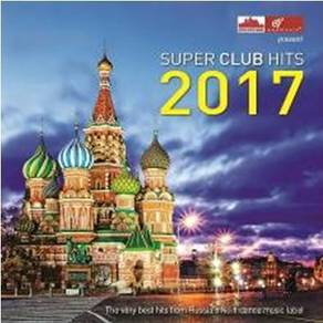 IMPORTED CD Super Club Hits 2017 Rusia Dance 2CD