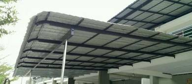 Awning Metal Deck Roofing Zink, Pergola, Gate