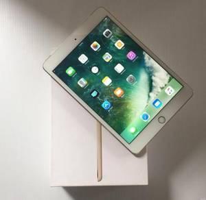 Ipad mini 4 gold cellular + wifi fullset