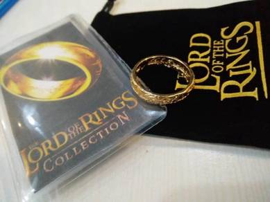 LOTR Gold Ring Collection Set