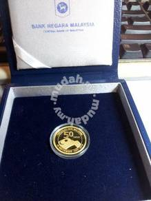 Malaysia Formation Day Single Gold