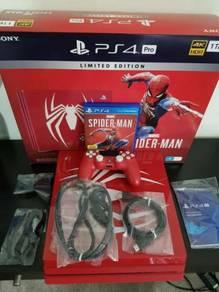 Sony PlayStation 4 Pro 1TB Marvel's Spider man