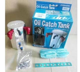 Greddy oil catch can breather bubbles tank fullkit