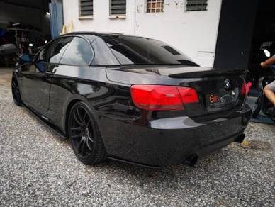 BMW E90/E92/E93 Rear bumper side lips