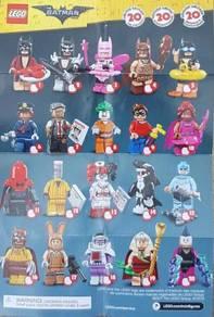 Lego 71017 Batman Movie S1 Minifigures (Full Set)