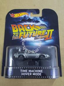 Hotwheels Retro BTTF Time Machine Hover Mode