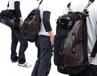 Vegabond Multifunction Bag Travel Backpack - Black