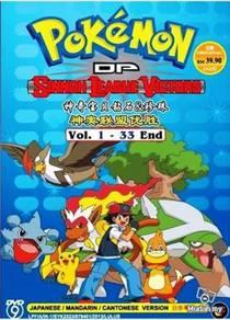 DVD ANIME POKEMON D&P Sinnoh League Victors