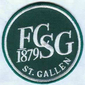 FC St Gallen 1879 Swiss Switzerland Football Patch