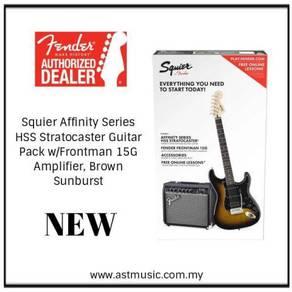 Fender Squier Affinity Elec Guitar / Frontman 15G