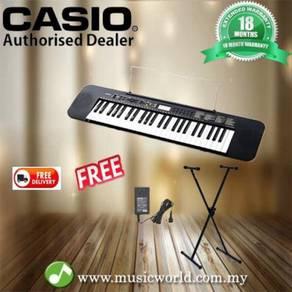 Casio ctk240 49-keys standard keyboard / stand