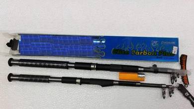 Pioneer Elite Carbon Telescopic Fishing Rod Joran
