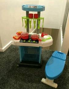 Chad Valley Toys Kitchen With Light & Sound