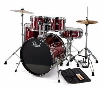 Brand New Pearl (5 Piece) Drum Kit