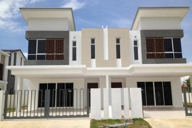 ONLY ONE! [Fully Furnished !! 0%DP] Freehold Rumah 30x85 Dua Tingkat