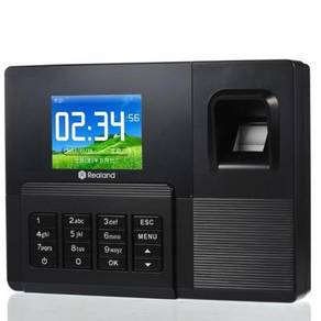 Fingerprint time attendances punchcard clock