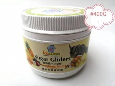 Kawan Sugar Glider 400g Nutritious Fruit Complex