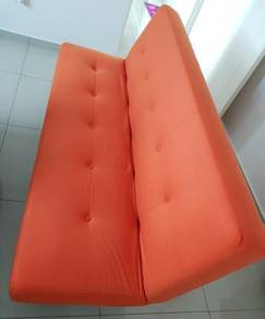 Sofa Bed, new and solid fabric material