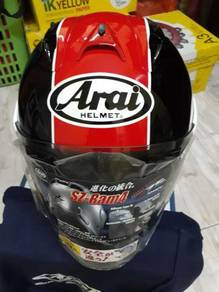 Arai Taira Red Limited Sign Edition Size M