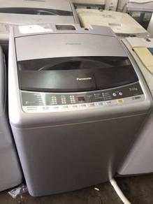Top load Panasonic 9kg automatic washing machine