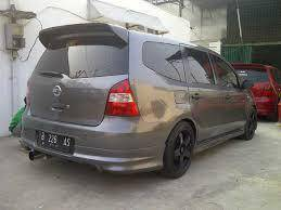 Nissan livina 11 abs bodykit spoiler without paint