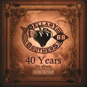 IMPORTED CD Bellamy Brothers 40 Years 2CD