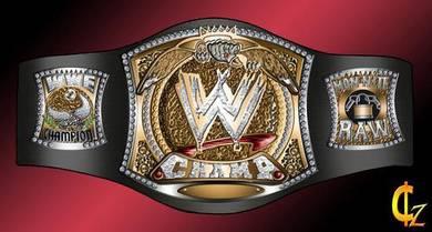 WWE WWF Raw Championship Title Belt tali pinggang