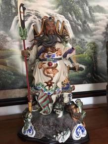 Guan Kong with nine Dragon