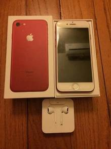 Iphone 7 plus 128gb red myset 10/10