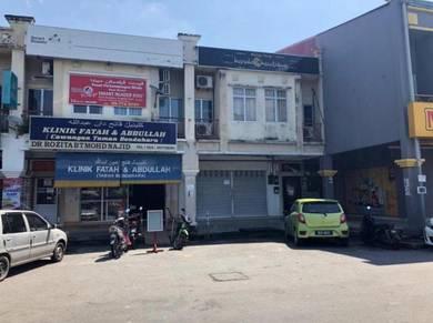 2 storey shop office facing main road to Kota Bharu airport