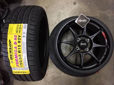 Sport Rim Advanti Racing 06 Storm Siap tyr 15