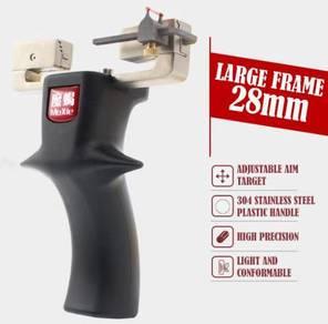 Large Frame Steel Slingshot | Lastik