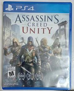 Disc Game PS4 Assassins Creed Unity
