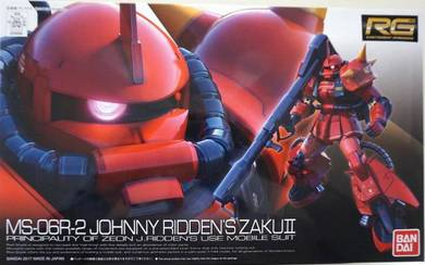 Bandai RG 1/144 Gundam Johnny Ridden's Zaku II