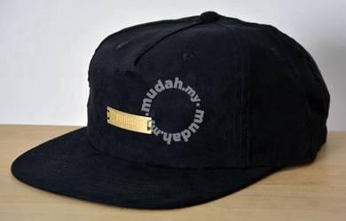 PUMA Suede Flat Brim Cap - Gold Metal 3D Badge
