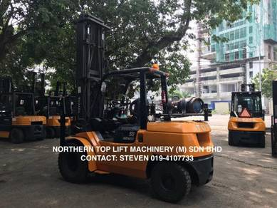 JAPAN Direct Imported TOYOTA 5 ton FORKLIFT AUTO