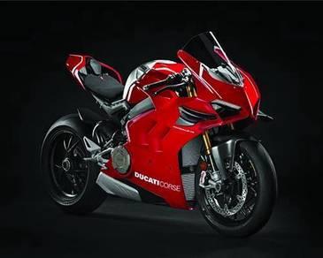 Ducati panigale v4S poster